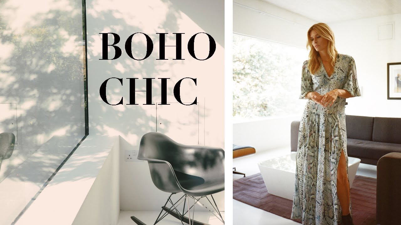 HOW TO DRESS BOHO CHIC   BOHEMIAN STYLE ESSENTIALS AND OUTFIT IDEAS