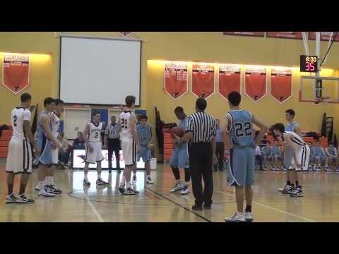 BRIAN LISSAK - NYSISAA Boys Basketball Championship Game -2011- PART 1
