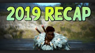 BDO - My Year in Black Desert Online [2019 Recap]