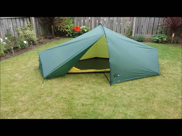 Terra nova laser competition 1 Tent.  How to put it up  and down quickly.