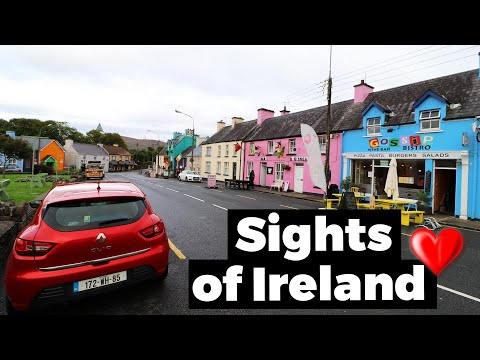 Sightseeing ended with the GARDA Police in Ireland - Travel Vlog Day #58