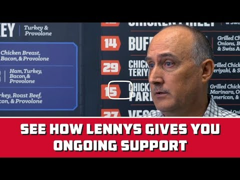 Lennys Grill & Subs Franchise: Serious About Training