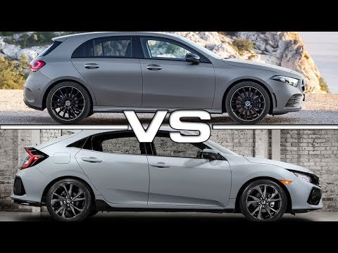 2019 Mercedes A-Class Vs 2018 Honda Civic Hatchback Technical Specifications
