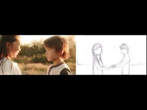 Storyboard Comparison - Write it in the Sky Remix Music Video