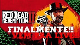 RED DEAD REDEMPTION 2 - LIVE DE LANÇAMENTO DESSA OBRA DE ARTE!!! #1
