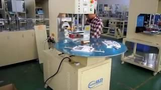 automatique PVC/PET blister emballage machine,souder pour boîte blister