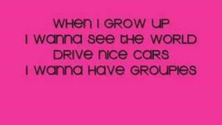 The Pussycat Dolls-When I Grow Up-(With Lyrics!)