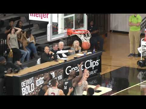 Highlights: Men's Basketball Vs Rochester University; W 61-59