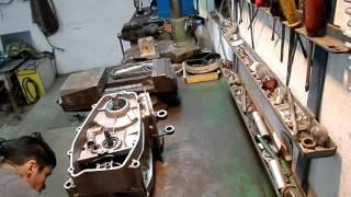 ремонт мотора Ява 638 ч.1 розборка