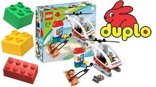 ✿ Вертолет Lego Duplo - Игры c Лего для детей - Интересные игрушки(У нас получился почти настоящий мультик про машинки. Лего мини фильм для малышей от 3х лет. Игры с Лего помог..., 2014-03-25T10:20:12.000Z)