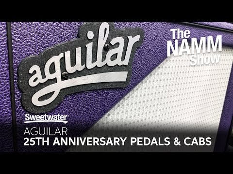 Aguilar 25th Anniversary Products at Sweetwater