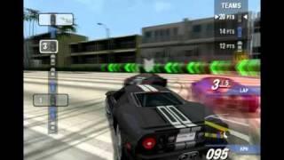 Ford Street Racing: Team Race Gameplay