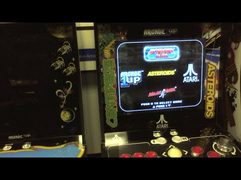 Replacement Arcade1UP Spinner GamePlay & CES Talk