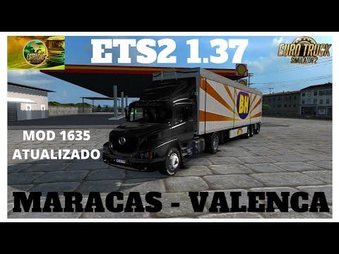 ETS2 1.37/ ESTRADAS DO BRASIL FREE / MOD 1635 ATUALIZADO SOUSA SG