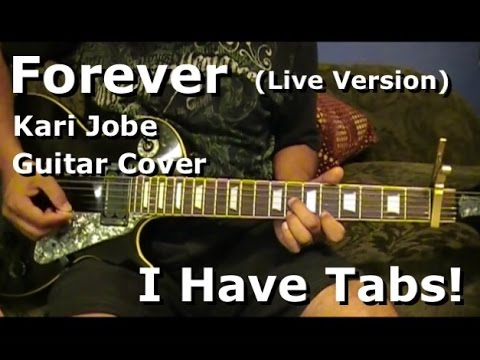 Forever By Kari Jobe Live Version on Lead Electric Guitar - I HAVE ...