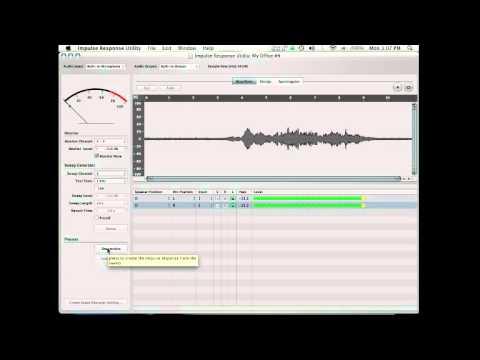 Using the Impulse Response Utility - A Crash Course