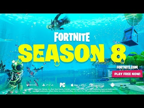 FORTNITE SEASON 8 TRAILER REACTION! thumbnail