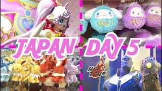 COSPLAY IN JAPAN + TOKYO POKEMON CENTER! TOKYO COMICCON + CHARACTER STREET! | Japan Vlog Day 5