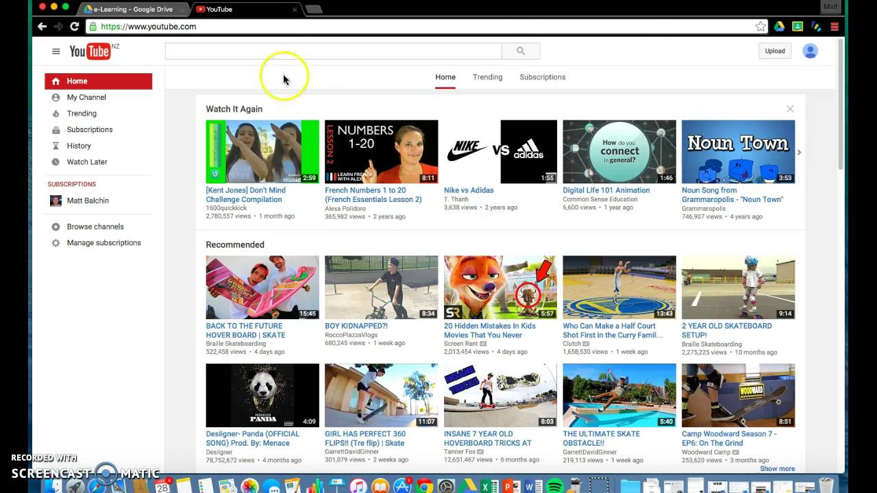 How to turn off youtube video recommendations - YouTube
