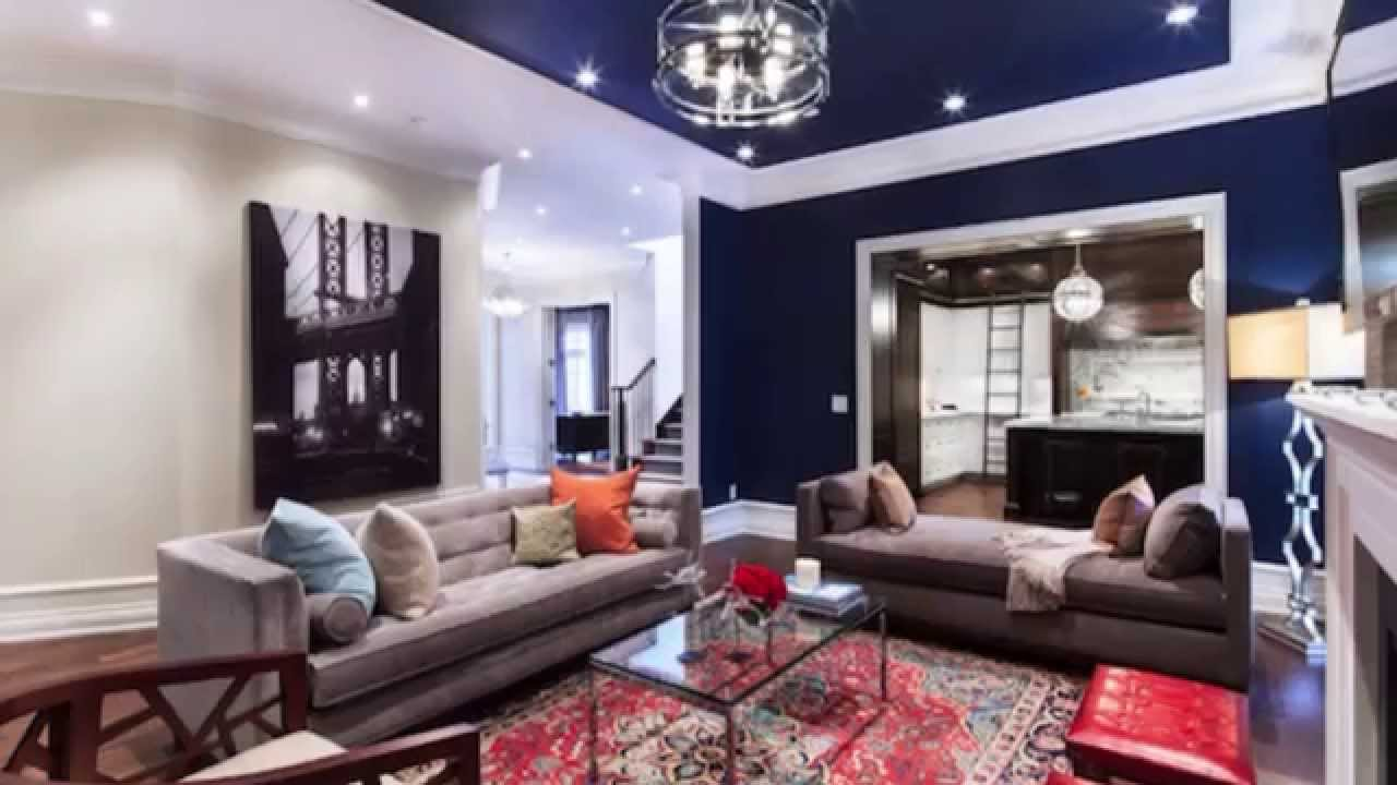 colors to paint living room pendant light how pick a color for your ceiling the 5th wall in youtube