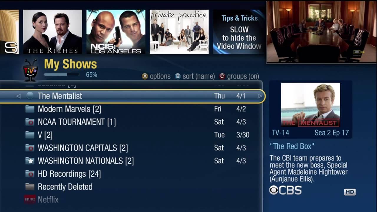 TiVo Premiere My Shows (HD)