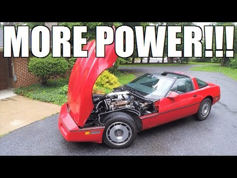 The $2000 Corvette Is FIXED! Now For The POWER Mods...
