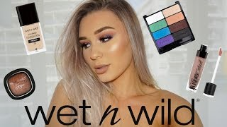 Full Face Using ONLY Wet N Wild Products!!