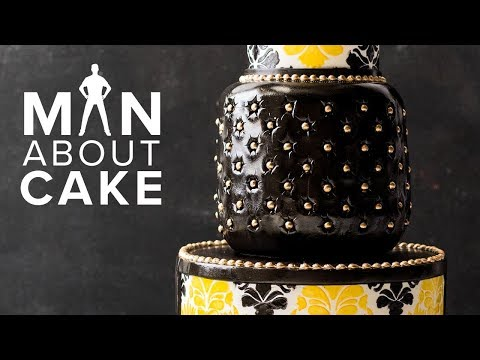 House of VERSACE Fashion Cake  Man About Cake with Joshua John Russell