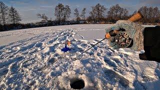 Ловля щуки на жерлицы Судак на балансир Зимняя рыбалка на реке 2019