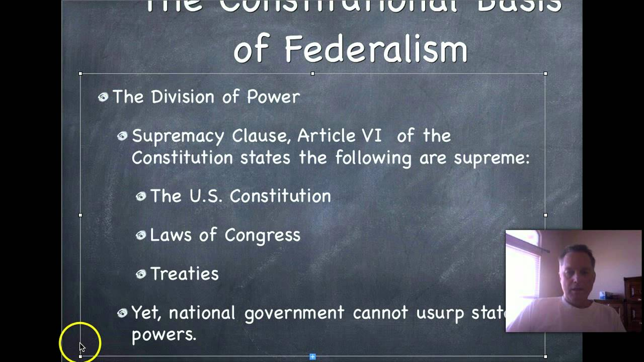 essay on federalism in the united states