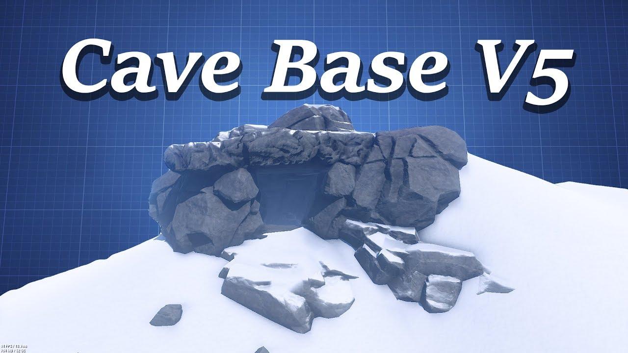 medium Cave Base Design | Rust