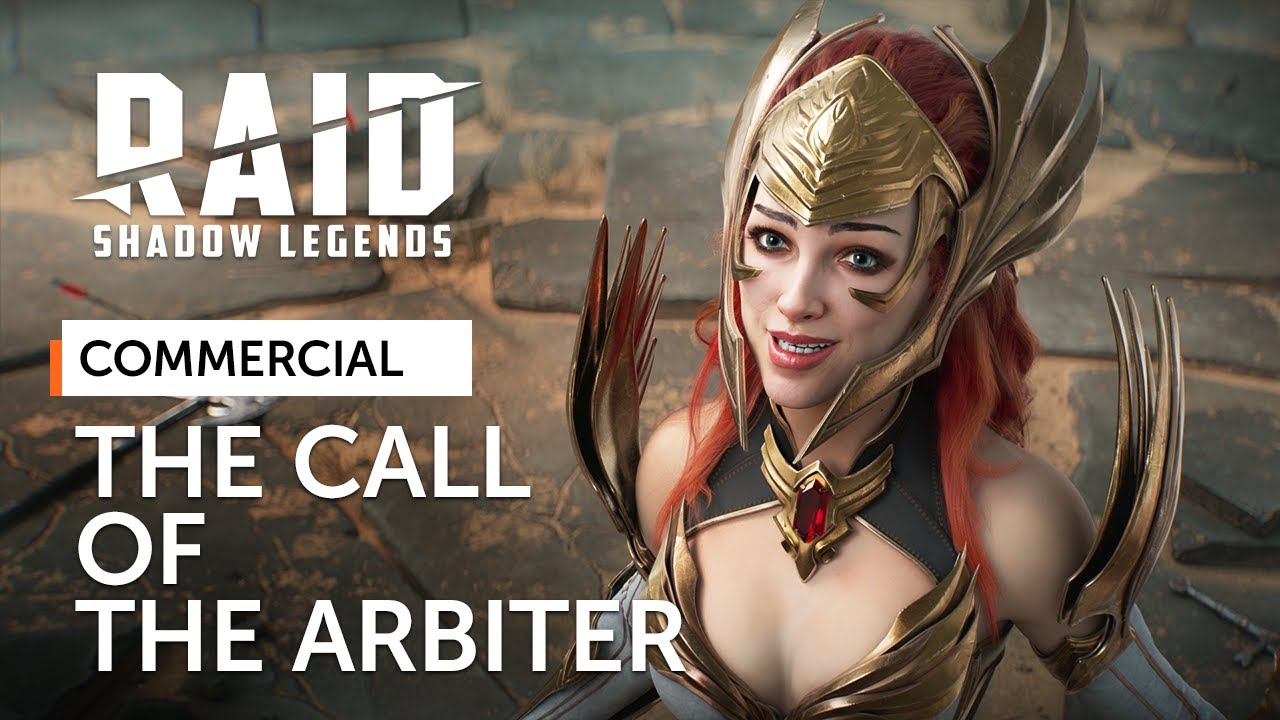 Raid Shadow Legends Commercial Actress