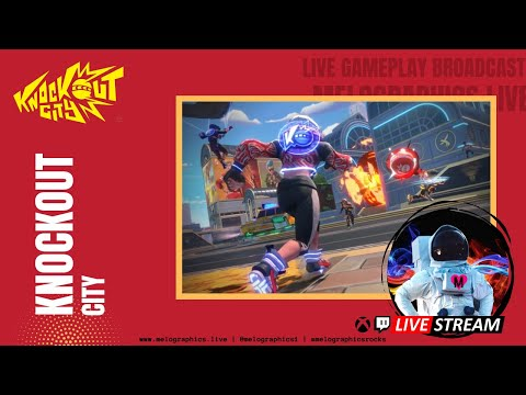 Knockout City Gameplay Highlights with the #MeloCrew   #EpicPartner Support-a-Creator MELOGRAPHICS
