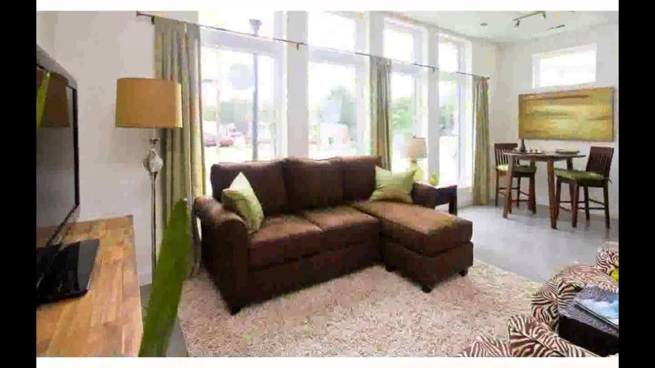 Brown couch living room design photos nice youtube for Living room designs brown furniture
