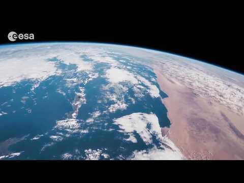 Space Station View Shows Italy to the Indian Ocean | Video