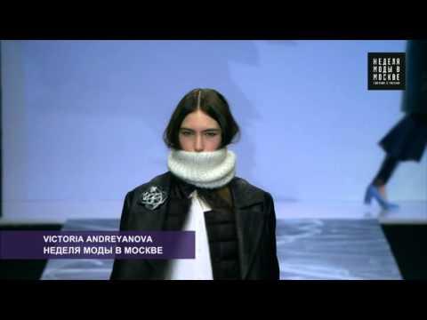 MFW: показ дизайнера Victoria Andreyanova