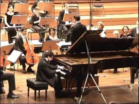 Roman Zaslavsky plays Beethoven Piano Concerto No.5