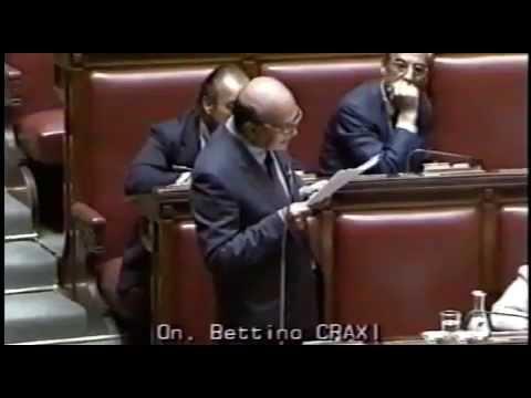 Mani Pulite  1992  Riflessioni di Bettino Craxi