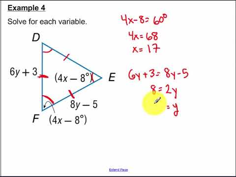 16++ 46 isosceles and equilateral triangles worksheet answer key Information