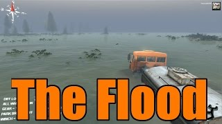 Spin Tires | New Official Update | Flood Map!