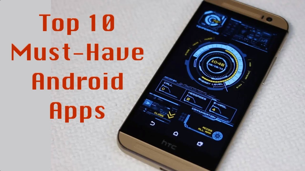 Top 10 Best Android Apps 2015 Youtube