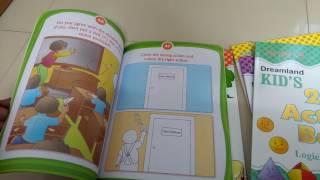 Kids choice - Dreamland Activity Books - 4+ - complete set - video reviews
