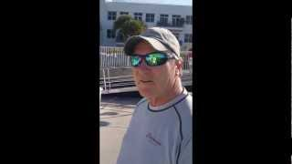 Interview with Robbie Doyle, tactician of Shockwave (Mini Maxi),at Quantum Key West 2013