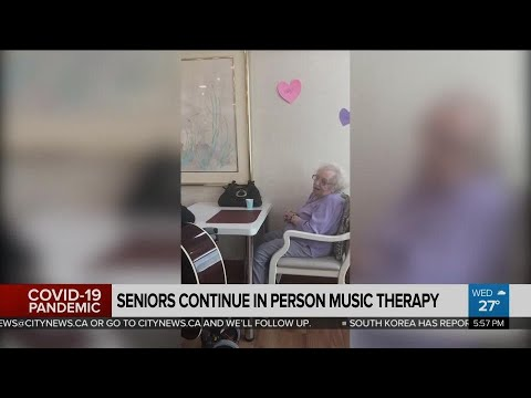 In-person music therapy continues at some long-term care homes