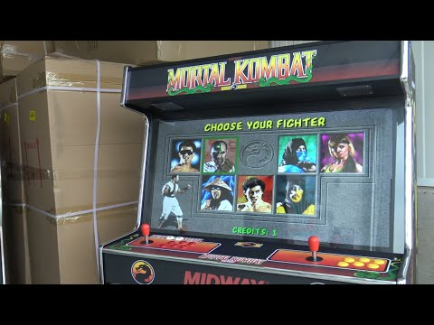 Mortal Kombat Arcade Cabinet 42inch Massive Machine / No Arcade1up from Wicked Gamer & Collector