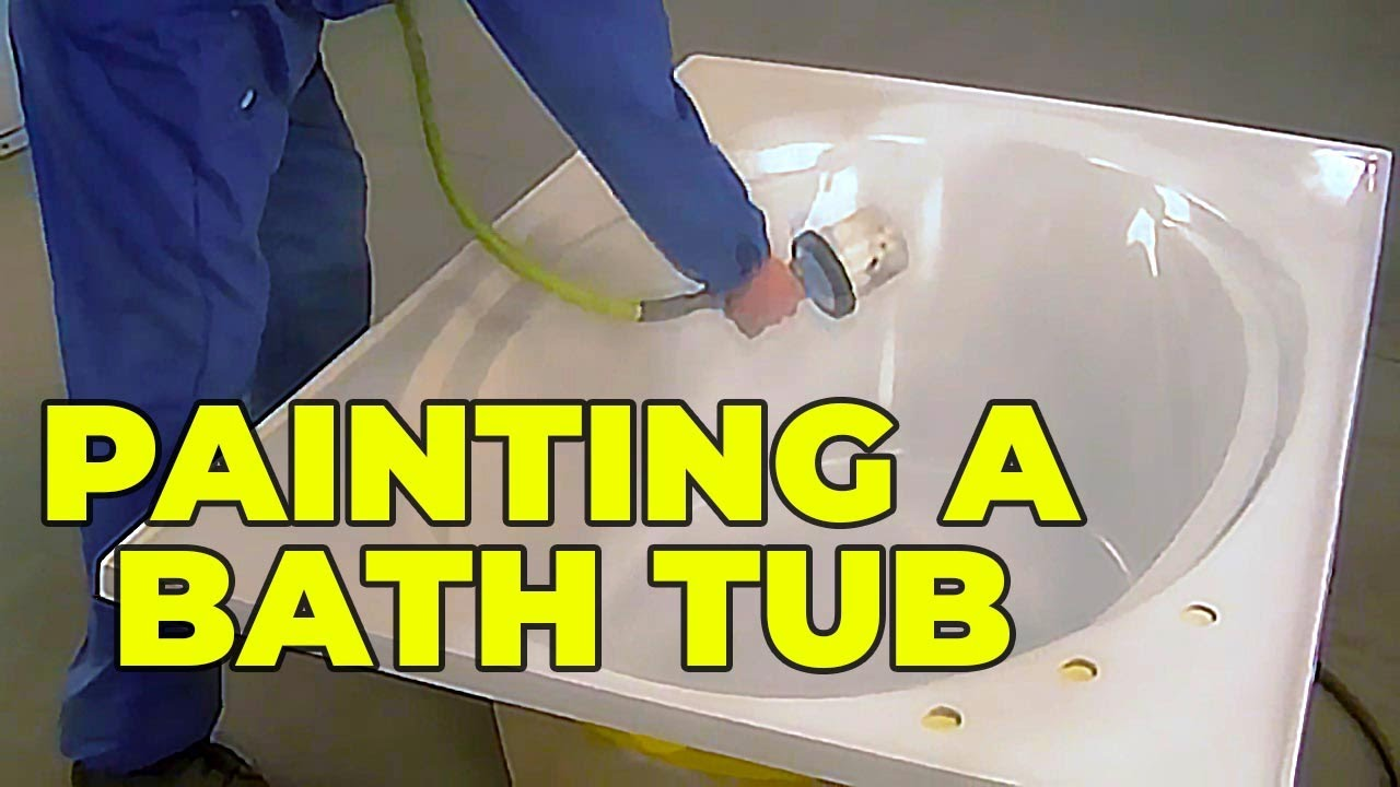 How to Paint a Bathtub - YouTube