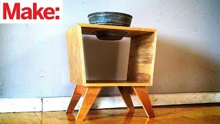 Learning To Make Furniture, with help from youtube