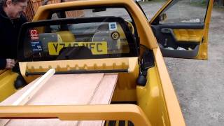 Škoda Felicia Pickup (convertible concept & they have a rain cover)