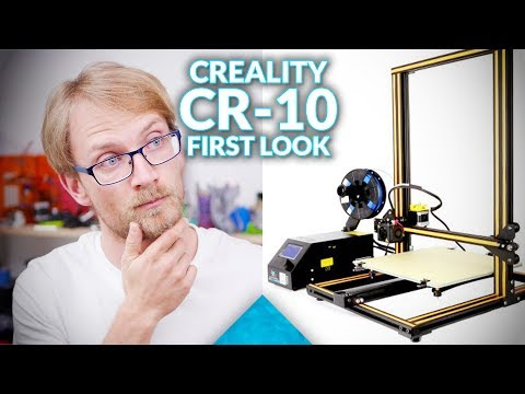 Live: Creality CR-10 unboxing and first look! (Not a review)