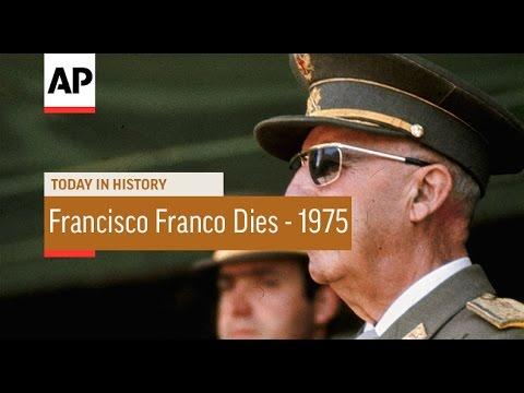 Generalissimo Francisco Franco Dies - 1975 | Today in History | 20 Nov 16